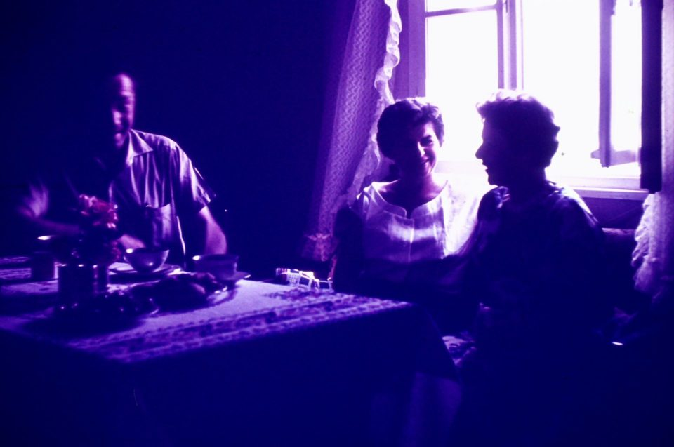 Sommer 1953 mit Tante Erna